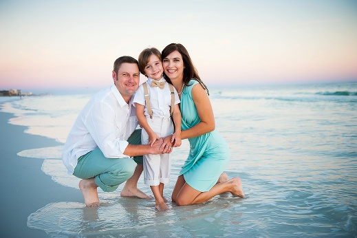 The Ponder Family Destin Beach Photographer