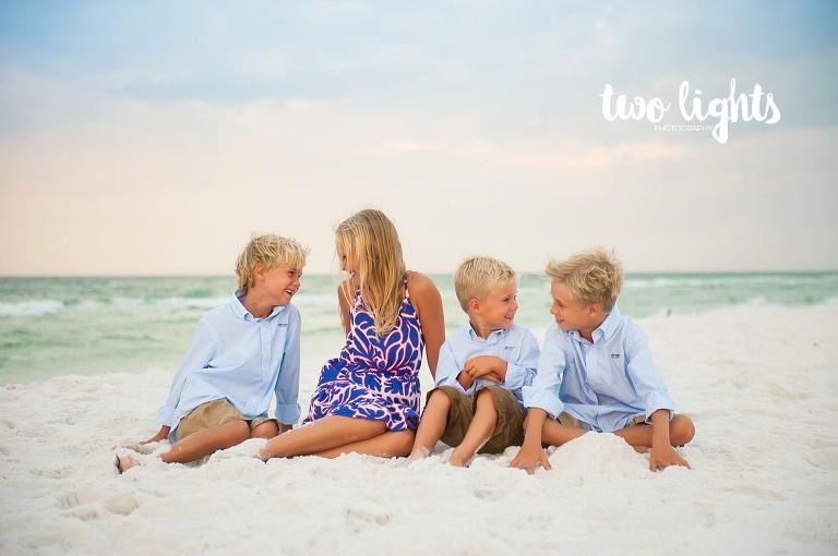 Watercolor Fl Beach Photo session