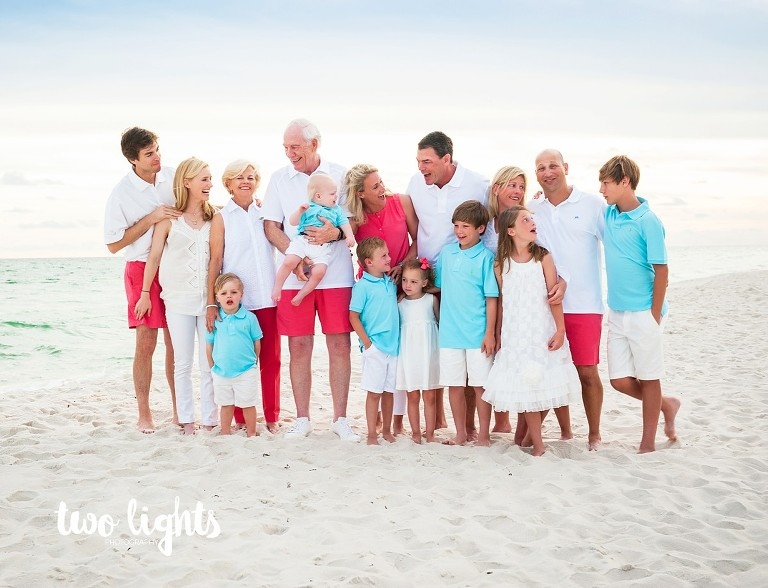Inlet Beach Photographer | Family Beach Photography | Two Lights Photography