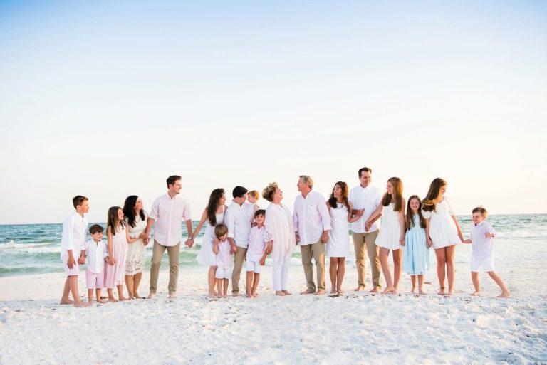 santa rosa beach family portraits