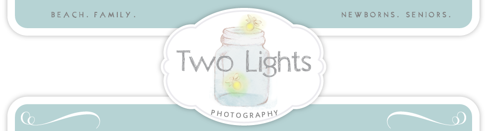 Two Lights Photography logo